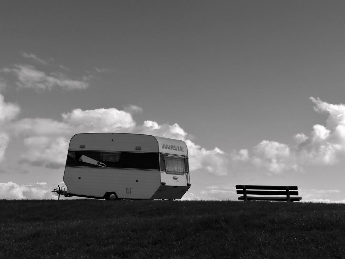 caravan-alone
